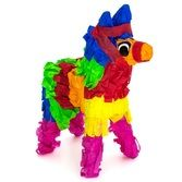 Cinco de Mayo Decorations Small Fiesta Donkey Pinata Image